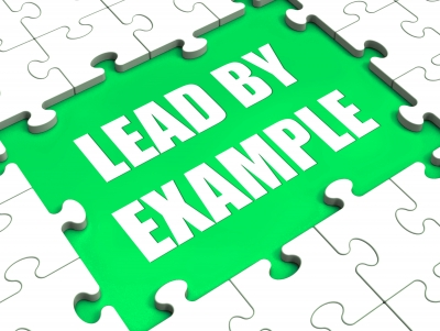 Lead leading by example essay